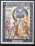 ALGERIE.   1967.    Y&T N°458 *.    Jamboree Scout. - Algérie (1962-...)