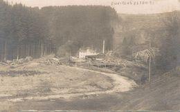 Environs D'Elsenborn - Carte-photo - Identifiée Grâce Au Texte Du Verso - 2 Scans - Elsenborn (camp)