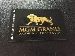 Hotelkarte Clef De Hotel Tarjeta Hotel Room Key  HOTEL   MGM GRAND DARWIN - Phonecards