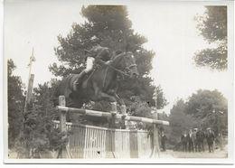 66-FONT-ROMEU-Concours Hippique, M. Georges De Rovira, Saut D'Obstacle Sur Oscar... (photo 12x17) - Frankreich