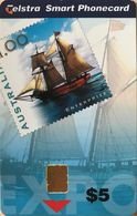 AUSTRALIE  -   Phonecard  -  Telstra  - Enterprize  -  Expiry : 03/2001  -  $ 5 - Australië