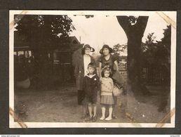 PHOTO ORIGINALE 5 SEPTEMBRE 1932 - BAYEUX RETOUR De VACANCES - CALVADOS ( 14 ) NORMANDIE - Places