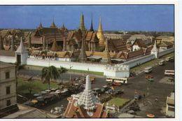 Bangkok The Emerald Buddha Temple Bus Autobus Car Autocar Voitures - Thailand