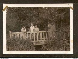 PHOTO ORIGINALE AOUT 1932 - VER Sur MER Sur Le PONT De ........... ( VOIR DOS ) - CALVADOS ( 14 ) NORMANDIE - Lugares