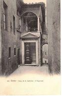 SIENA - CASA DI S. CATERINA - L'INGRESSO   (SI) - Siena