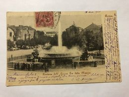 ITALY - ROMA - FONTANA DELL'ACQUA FRA DETTA MARCIA - POSTED 1901  -  POSTCARD - Autres Monuments, édifices