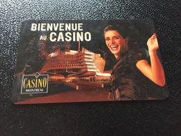 Hotelkarte Clef De Hotel Tarjeta Hotel Room Key  HOTEL  CASINO DE  MONTREAL - Phonecards