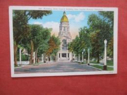 -State Capitol Building  Wyoming > Cheyenne  Ref 4211 - Cheyenne