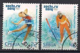 Serbien  (2014)  Mi.Nr.  541 + 542  Gest. / Used  (8gj51) - Serbien