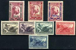 España Nº 783/5, 792/6. Año 1938 - 1931-Aujourd'hui: II. République - ....Juan Carlos I