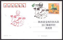 CHINA XingTai COVID-19 Postmarks:WuHan Stay Strong - Ziekte