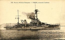 029 478 - CPA - Bateaux - Guerre - Marine Militaire Française - Paris - Guerre