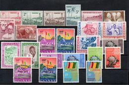 H1-6 République De Guinée Entre N° 8 Et 42 ** - Guinée (1958-...)