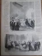 1873 ROME    Le Saint Pere  Donnant  La Communion Aux Infantes D Espagne      VATICAN PAPA RELIGION - Telefonkarten
