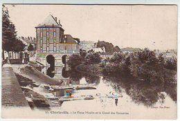 08. CHARLEVILLE . LE VIEUX MOULIN ET LE CANAL DES TANNERIES . ANIMEE . Editeur E. GELLY - Charleville