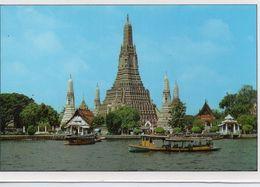 Bangkok Wat Arun Le Prang Central Bateaux - Thailand