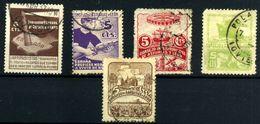España-Asturias Y León Nº 1/3, 5/6. Año 1936/37 - Asturias & Leon