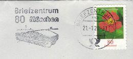 Briefzentrum 80 München Mb - Kapuzinerkresse 2020 Brief - [7] Federal Republic