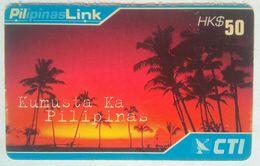 Hongkong Philippine Related Phonecard Kamusta Ka - Philippines