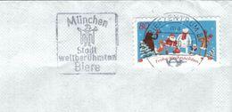 BST München Stadt Der Weltberühmten Biere Briefzentrum 80 Ma 2020 - Weihnacht Eisbär Weihnachtsmann Ren 2019 - [7] Federal Republic