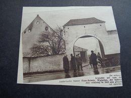 "Origineel Knipsel ( 5175 ) Uit Tijdschrift "" Zondagsvriend ""  1936 :   Hoeve Haie - Sainte  Waterloo - Vieux Papiers"