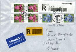 R-Brief Brühl 50321 2020 - Wild-Gladiole Hasenglöcklein Mit Zwischensteg - [7] Federal Republic