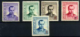 España-Huérfanos De Correos Nº NE 14/18. Año 1937 - Bienfaisance