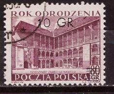 PIA - POLONIA - 1965 : Francobollo Precedente Con Nuovo Valore Sovrastampato  - (Yv  861-64) - 1944-.... Republic