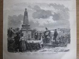 1873  LES ALSACIENS Monument  Bataille De REICHSHOFFEN  6 Aout 1873   Frœschwiller-Wœrth,  Reichshoffen - Telefonkarten