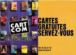 CART'COM  LE RÉSEAU COMPLICE CARTES GRATUITES SERVEZ-VOUS TEL 04.78.33.57.37 - Théâtre