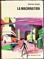 Christian Grenier - La Machination - G.P. Rouge Et Or - N° 2555  - ( 1973 ) . - Books, Magazines, Comics