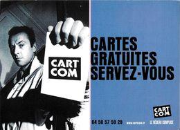CART'COM  LE RÉSEAU COMPLICE CARTES GRATUITES SERVEZ-VOUS TEL 04.50.57.58.28. - Théâtre