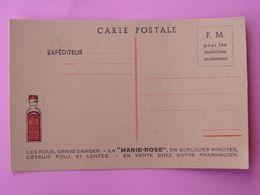 """Carte En Franchise Militaire """" Marie Rose """" La Mort Parfumée Des Poux NEUVE - Cartes De Franchise Militaire"""
