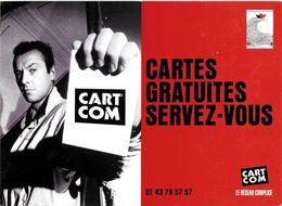 CART'COM  LE RÉSEAU COMPLICE CARTES GRATUITES SERVEZ-VOUS TEL 01.43.79.57.57 AVIGNON 1988 - Théâtre