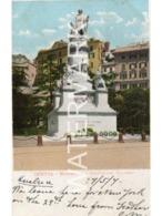 GENOVA GENOA MONUMENTO A CRISTOFORO COLOMBO OLD COLOUR  POSTCARD ITALY - Genova (Genoa)