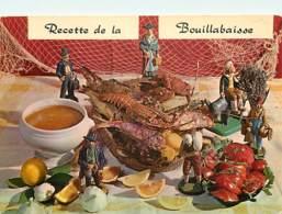 Recettes De Cuisine - Bouillabaisse - Carte Neuve - Gastronomie - CPM - Voir Scans Recto-Verso - Recettes (cuisine)