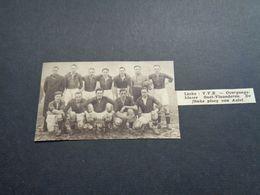 """Origineel Knipsel ( 5187 ) Uit Tijdschrift """" Zondagsvriend """"  1936 :  Voetbal Ploeg Van Aalst  Alost - Vieux Papiers"""