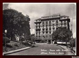 1950 Italie Italy Cartolina Milano Milan Albergo Principe E Savoia Nuova Unused Postcard - Milano (Milan)