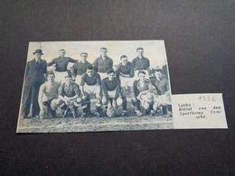 """Origineel Knipsel ( 5191 ) Uit Tijdschrift """" Zondagsvriend """"  1936 :  Voetbal   Temsche  Temse  Tamise - Vieux Papiers"""