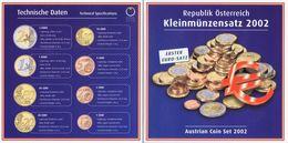 Austria Euro Coins Sets 2002 BU - Autriche