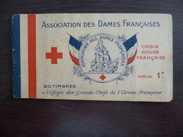 Carnet Association Des Dames Françaises. Effigie Des Grands Chefs De L'Armée Française. - Carnets