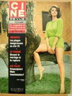 CINE REVUE N°22/1970, Cannes, Loren, Demongeot, Voir Description - Cinema