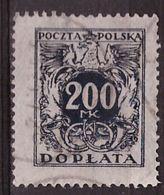 PIA - POLONIA - 1923-24 : Francobollo Do Servizio  - (Yv  47) - Officials
