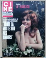 CINE REVUE N°17/1971, Mastroianni, Voir Description - Cinema