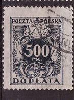 PIA - POLONIA - 1923-24 : Francobollo Do Servizio  - (Yv  48) - Officials