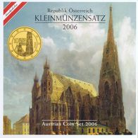 Austria Euro Coins Set 2006 BU - Autriche