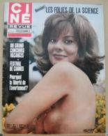 CINE REVUE N°20/1971, Sinatra, Bardot, Venture, Belmondo, Jobert, Voir Description - Cinema