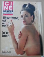CINE REVUE N°22/1971, Cannes, Sharif, Presley,  Voir Description - Cinema