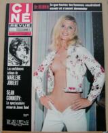 CINE REVUE N°35/1971, Connery, Dietrich, Gabin, Jobert, Schneider, Voir Description - Cinema
