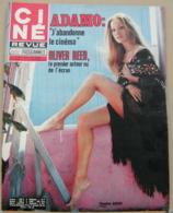 CINE REVUE N°37/1971, Oliver Reed, Chaplin, Auger, Adamo, Voir Description - Cinema